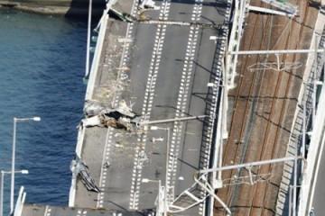 Nhật Bản mất 8 tháng sửa cầu nối với sân bay hư hại do bão Jebi