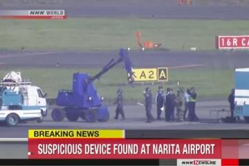Sân bay Nhật Bản đóng cửa đường băng vì phát hiện đạn pháo chưa nổ