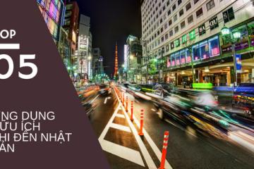 Top 5 ứng dụng hữu ích cho di động không thể bỏ qua khi ở Nhật Bản